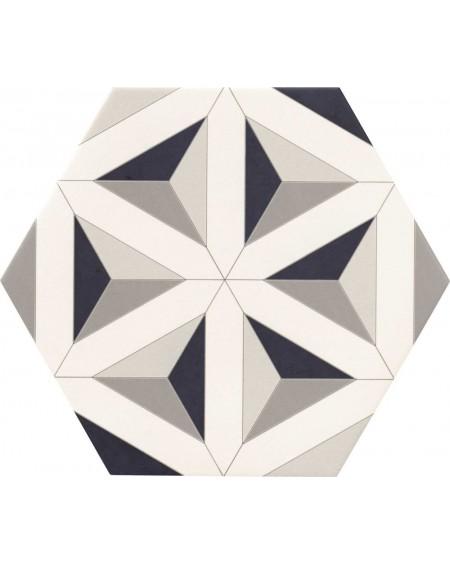 obklad prostorový hexagon geometrickách vzorů hex28 Malmoe výrobce Reaonda šestihran