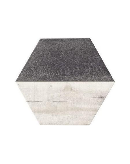 dlažba obklad kazetový imitující dřevo Trapez Wood Ash parket 28,5x33 cm šestihran