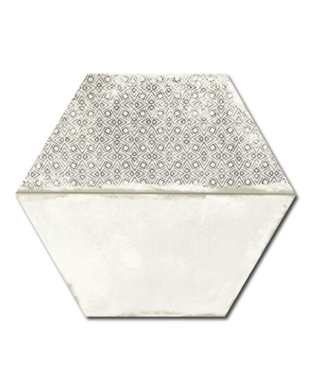 dlažba obklad vintage patina hex 28 hexagon Trapez Vintage Deco 28x33 cm šestihran