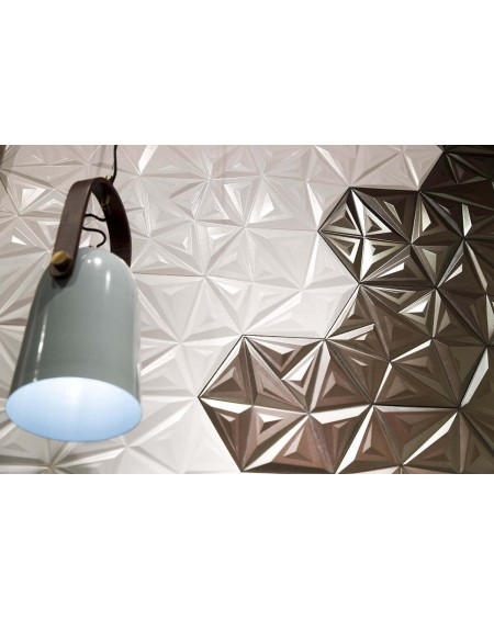 obklad bílý geometrických vzorů hexagon hex 28 Yara White 28,5x33cm výrobce Realonda šestihran