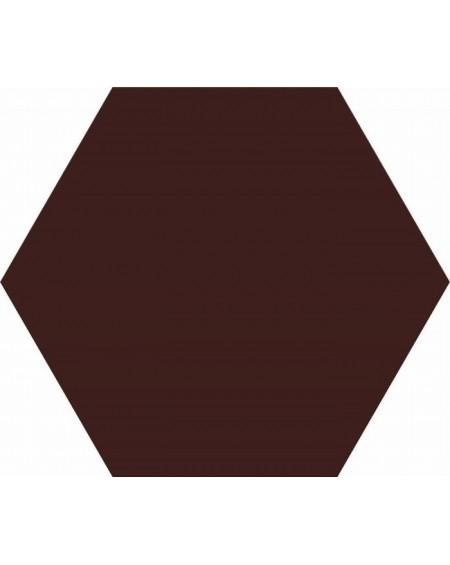 dlažba obklad hnědý hexagon Opal Marron 28,5x33 cm výrobce Realonda Šestihran