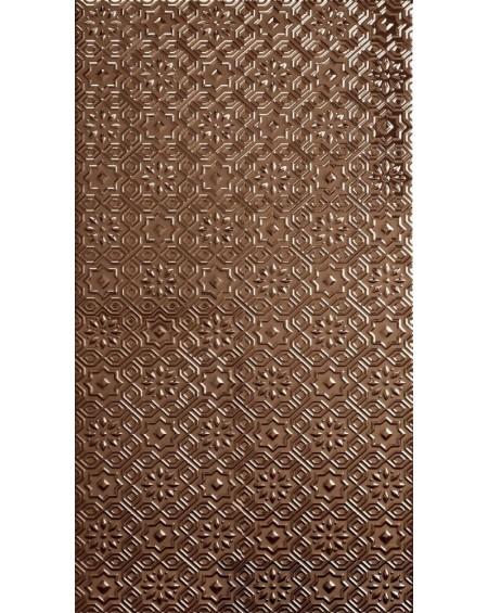 obklad hnědý vintage klasic Alhambra Deco Gold 31x56 cm výrobce Realonda