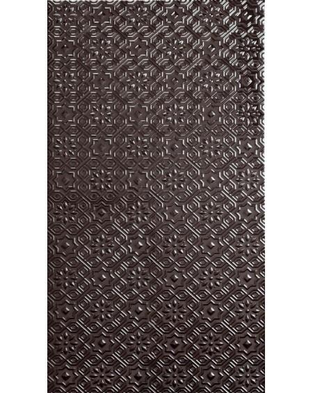 obklad hnědý vintage klasic Alhambra Deco Antracite 31x56 cm výrobce Realonda