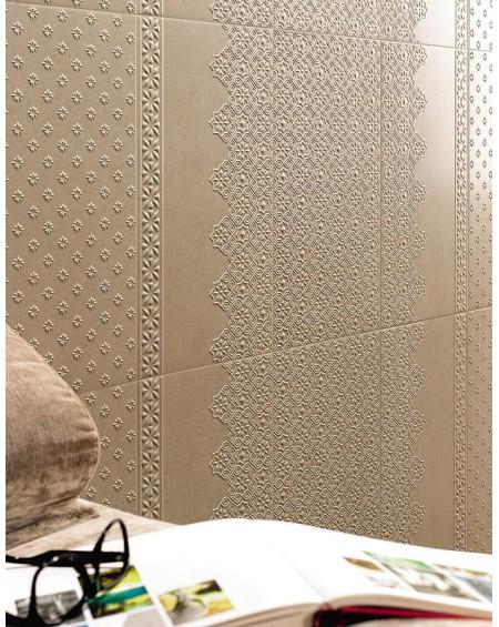 obklad hnědý vintage klasic Alhambra Cenefa 31x56 cm výrobce Realonda