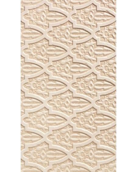 obklad hnědý vintage klasic Dubai Beige Decor 31x56 cm imitující kámen matný výrobce Realonda
