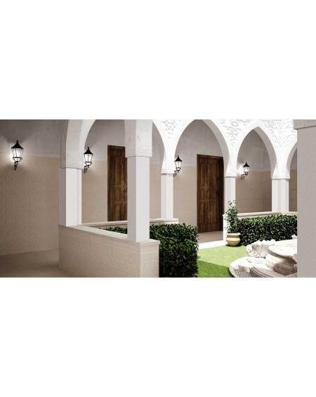 obklad hnědý vintage klasic Dubai Gris Deco 31x56 cm imitující kámen matný výrobce Realonda