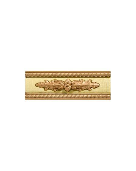 Cenefa Tailor Tweed Gold CF Brillo 7X20 cm výrobce Aparici/ks