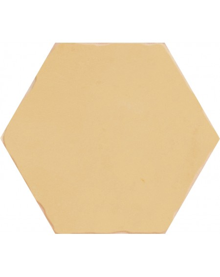 Dlažba obklad žlutá hexagon APE Carmen Nomade Ocre 13,9x16 cm šestihran mat