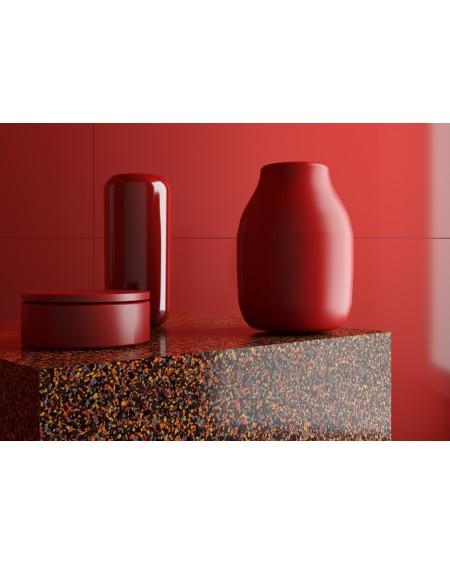 dlažba obklad imitující leštěný Granit red 120x120 cm lappato výrobce Leonardo Italy