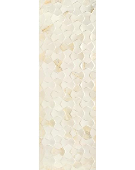 mramor béžový dekor Bowtie Quios Cream 40x120 60x60cm
