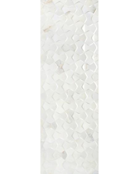 mramor béžový dekor Bowtie Quios Silver 40x120 60x60cm
