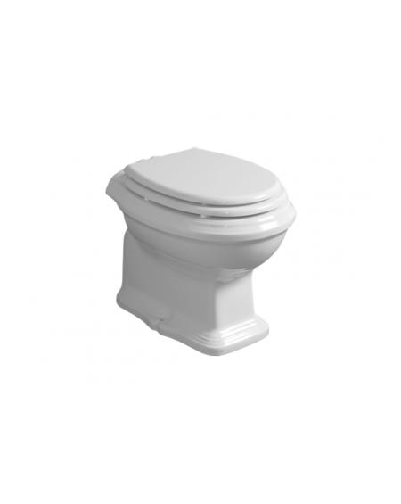 Retro vintage WC mísa stojící Arcade 55cm bílá