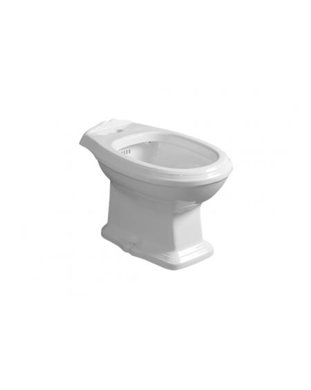 WC bidet stojící Arcade 55cm Retro vintage bílý se splachováním