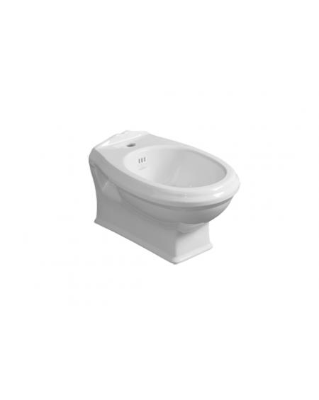 WC bidet závěsný Arcade 843 WHT 53cm Retro vintage bílý