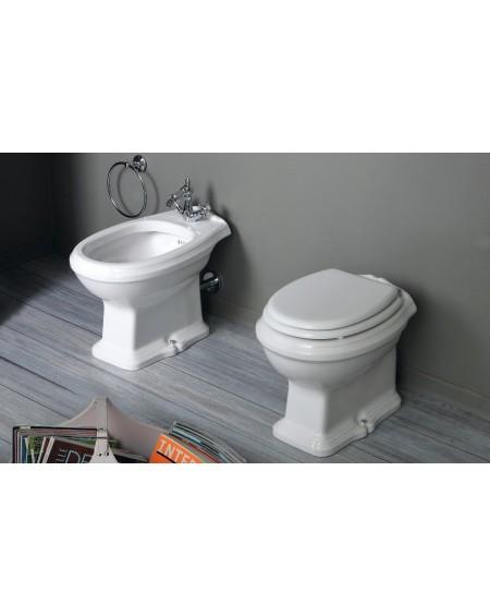 WC mísa stojící Arcade 55cm Retro vintage bílý