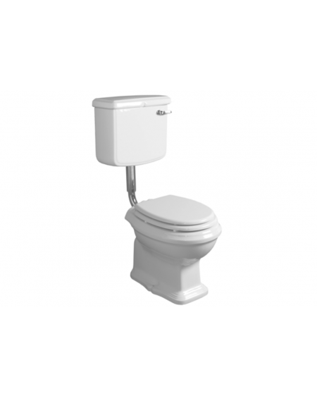WC stojící toaleta Arcade AR801 55cm nádrž nástěnná Retro vintage bílý