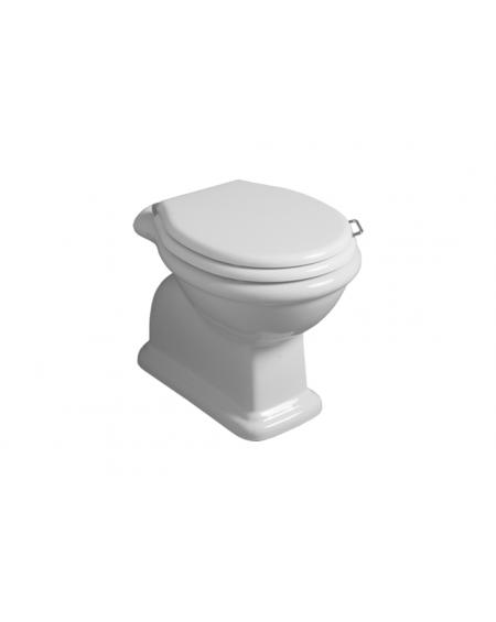 wc toaleta stojící Lante LA 01 WHITE 58 cm bílý retro vintage
