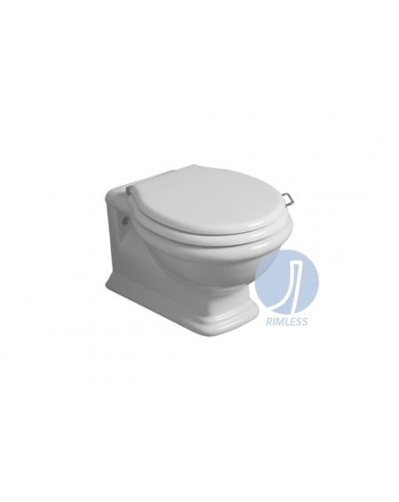 wc toaleta závěsná Lante LA 18 WHITE 58 cm bílý retro vintage