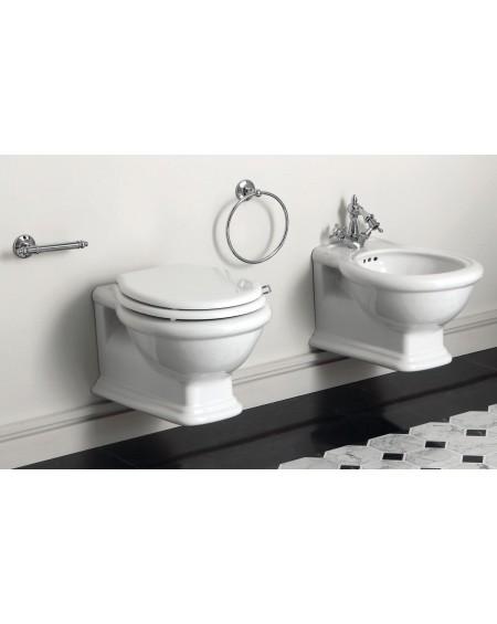 wc toaleta závěsná Lante LA 18 White 53 cm Rimless bílý retro vintage