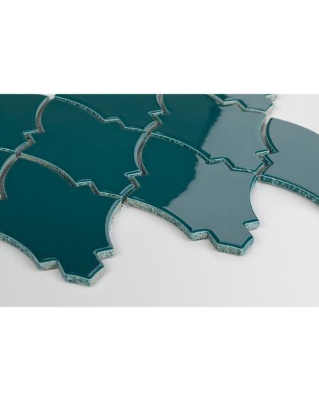 obklad mozaika ve tvaru štítu barva ocean Shield Ocean Granate