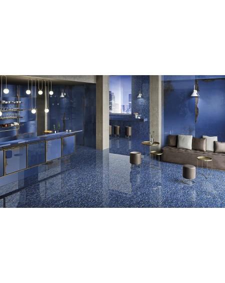 velkoformátová exkluzivní modrá dlažba Narciso Zaffiro 120x278 cm ultra slim 6,5 mm výrobce Viva Italy