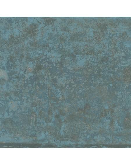 dlažba modrá imitující kov betone Grunge Blue 59,55 x 59,55 cm Rtt. lappatto výrobce Aparici Es.