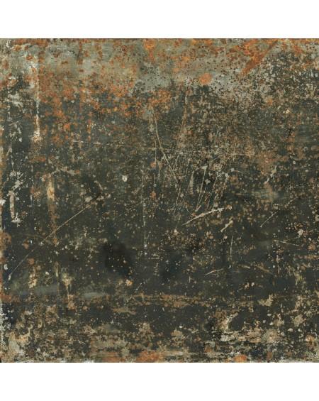 dlažba imitující kov stone Grunge Blue 59,55 x 59,55 cm Rtt. lappatto výrobce Aparici Es.