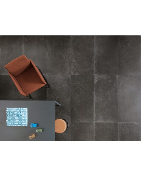 dlažba cemento C_Mine Black N rett. 60 x 120 cm výrobce Leonardo