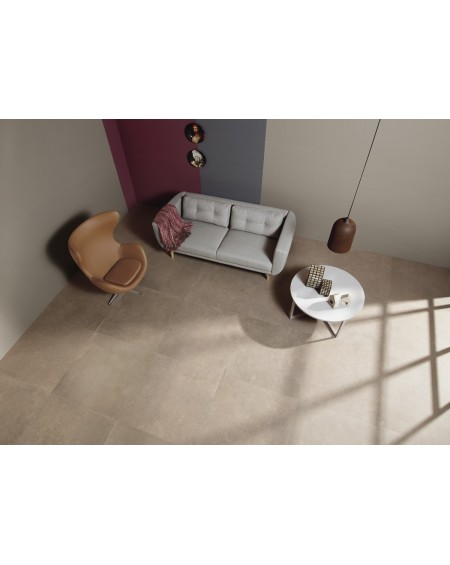 dlažba cemento C_Mine Greige N rett. 60 x 60 cm výrobce Leonardo Italy