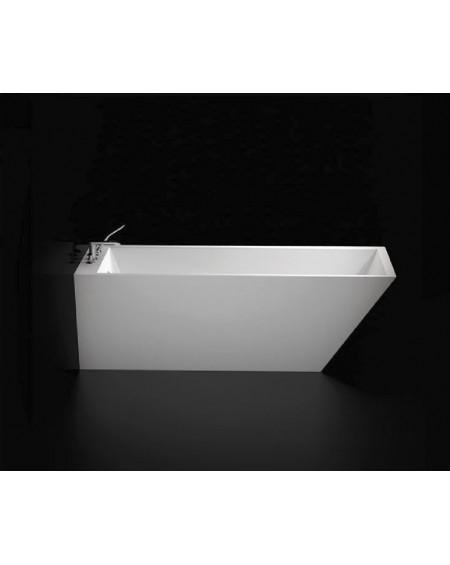 Vana volně stojící Tebe ll. W.M. 180x74x60cm z litého mramoru Durocoat ® bílá mat