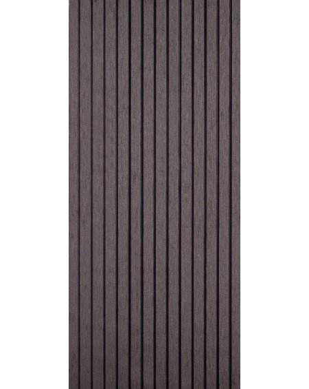 Dřevoplastová terasová prkna se směsí bambusu a kompositu WPC Brown 240 x15 x 25 cm
