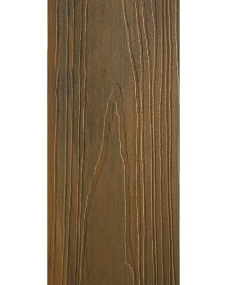 Dřevoplastová terasová prkna se směsí bambusu a kompositu imitující dřevo Walnut WPC - Bambus 240 x15 x 25 cm