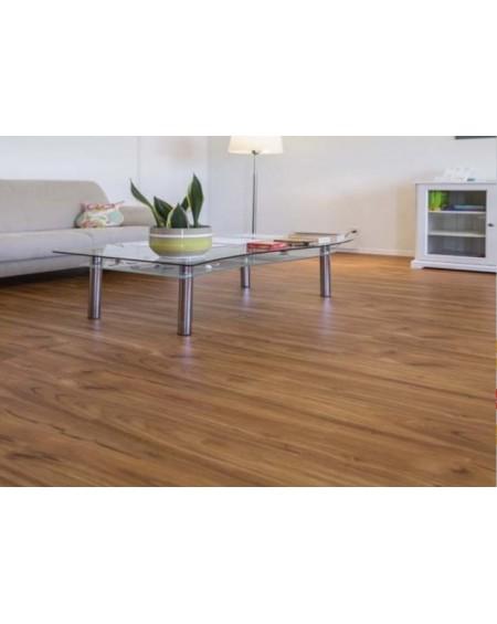 masivní podlahová prkna vyrobená z bambusu Wild Wood Karmel 185x125x14 cm systém pokládky Uniclik