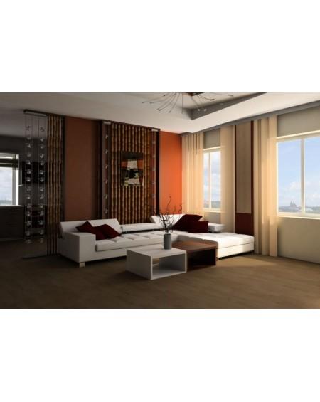 masivní podlahová prkna vyrobená z bambusu Wild Wood Karmel OL185x125x14 cm systém pokládky Uniclik