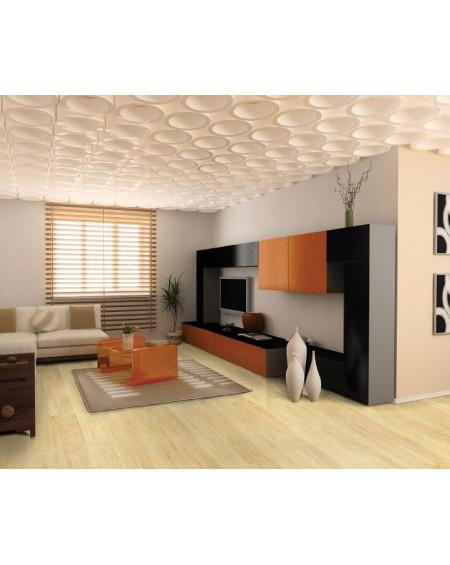masivní podlahová prkna vyrobená z bambusu Wild Wood NN Naturale 185x125x14 cm systém pokládky Uniclik