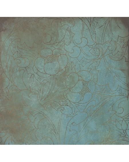 Dlažba obklad imitace kovu Trace mint Deco mix 60x60cm nature matná výrobce Caesar It. R9