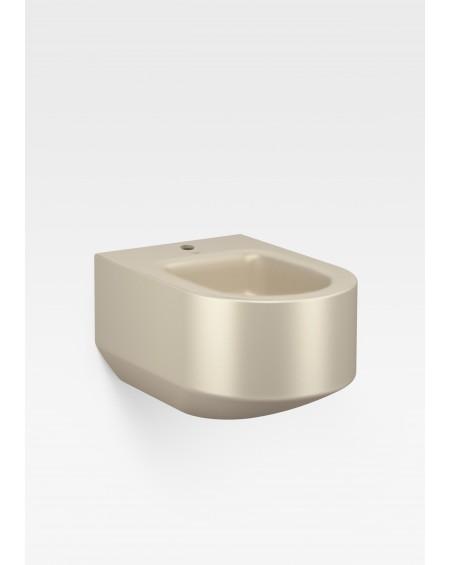 Armani Roca Gold závěsný bidet saténová perleť zlatá baterie