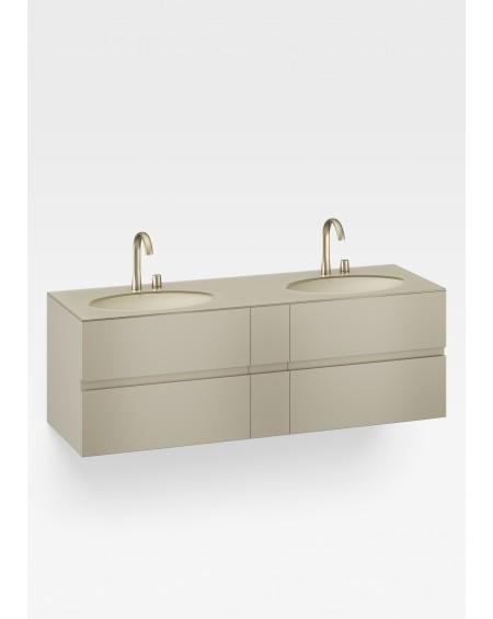 závěsná umyvadlová skříňka Armani Roca Gold 180 cm Island R3100