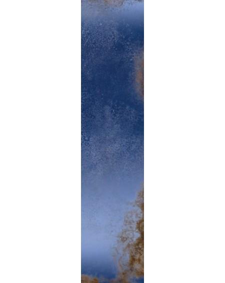 safírová modrá dlažba obklad Zaffiro 15x60 cm lappato lucído výrobce Viva Italy