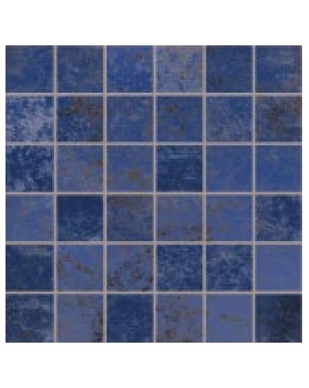safírová modrá dlažba mozaika obklad extra vysoký lesk Narciso Zaffiro 30x30 cm lappato výrobce Viva Italy