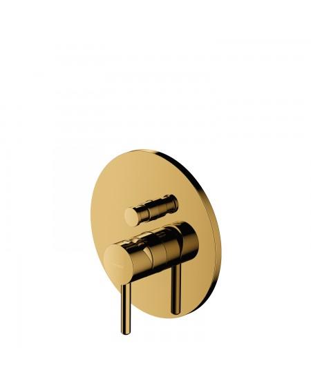 zlatá podomítková vanová sprchová baterie baterie Gold Y