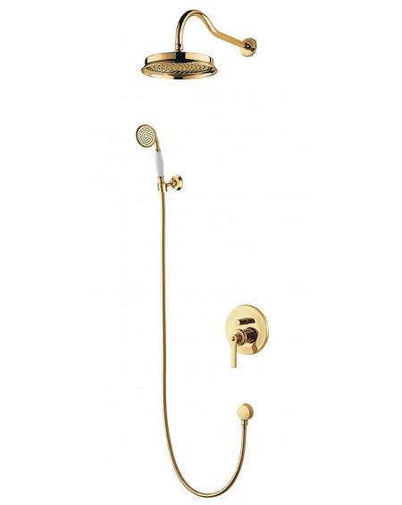 Zlatý sprchový set Retro Armance 20GL Gold