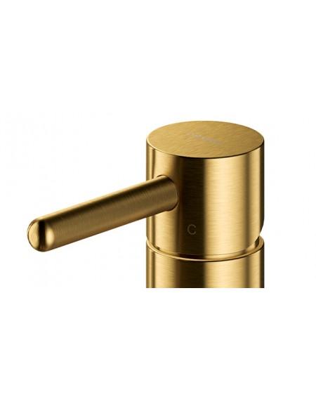 Zlatá vodovodní baterie Y brushed