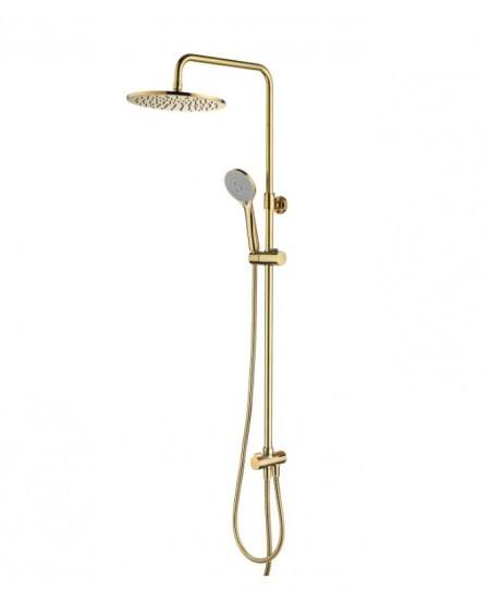 Zlatý sprchový set Art Deco Gold výrobce Omnires