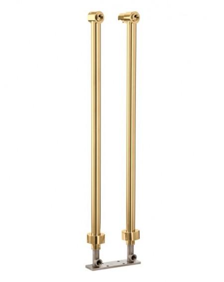 Zlaté vanové nohy pro vanovou baterii Modern Gold