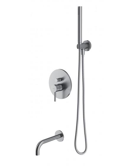 Sprchový vanový podomítkovy systém s povrchem niklu Y SYS 11NI