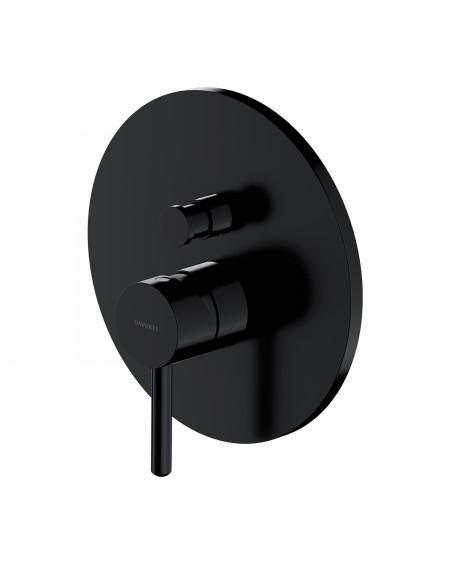 Černá matná sprchová baterie s ovladačem Y 35BL