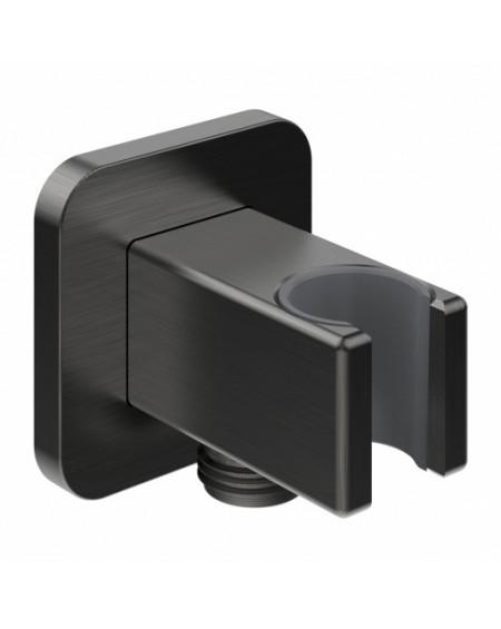 úhlové vodní připojení s držákem na sprchu