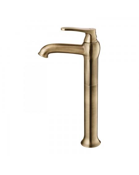 vodovodní baterie umyvadlová Art Deco 32 starožitná bronz
