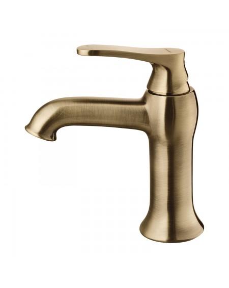 vodovodní baterie umyvadlová Art Deco starožitná bronz